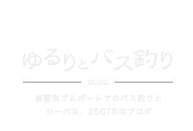 ゆるりとバス釣りブログ 琵琶湖ゴムボートでのバス釣りとシーバス、250TRのブログ