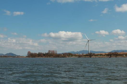 琵琶湖 赤野井