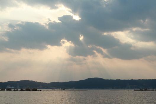 琵琶湖、初春の北山田いってきた。