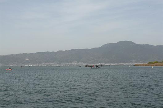 琵琶湖、北山田に行ってきた。