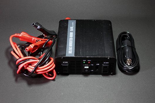 車内や屋外、車中泊やアウトドアでも家電用コンセントを使う方法。