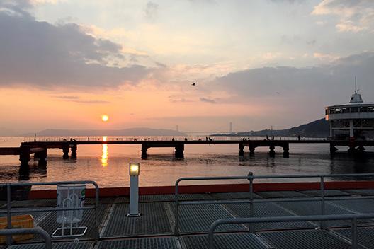 2017年釣り初め須磨海釣り公園に行ってきた。