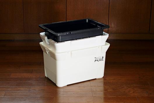 安物クーラーボックス改造。ウレタンスプレーで保冷力アップさせてみる。