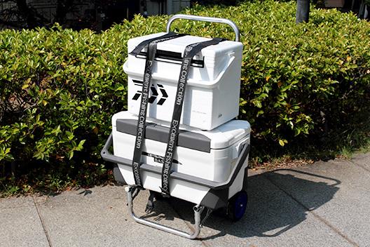 釣り場に荷物を運ぶ!背負子とキャリーの兼用タイプがおすすめ。